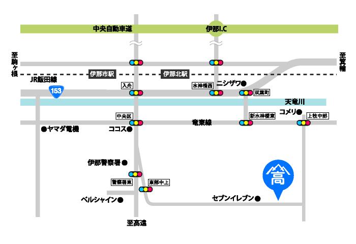 高山商店 詳細マップ